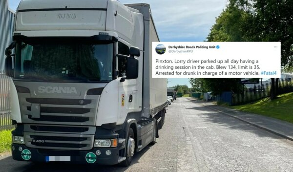 Derbyshire Roads Policing Unit comment on last week's heavily-debated arrest