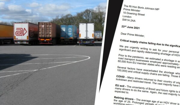 Truckers blast and deride RHA's letter to Prime Minister about driver shortages
