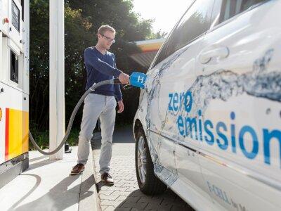 Wasserstoff-Offensive von Shell und Daimler Truck AG