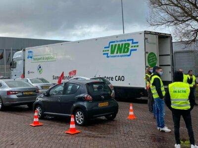 Водители грузовиков добились прибавок к зарплате. Сработал необычный протест