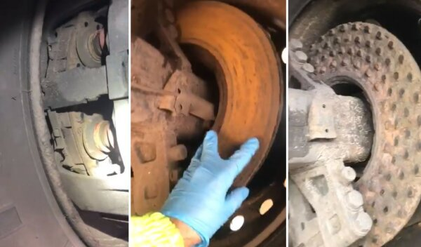 """""""You can't get much worse"""" DVSA appalled by trailer's broken brakes"""