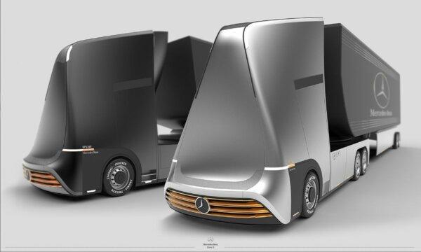Вот как будет выглядеть грузовой транспорт в 2050 г.