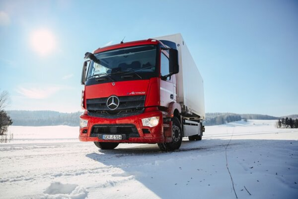 Here comes the new electric Actros – debut at the end of the month