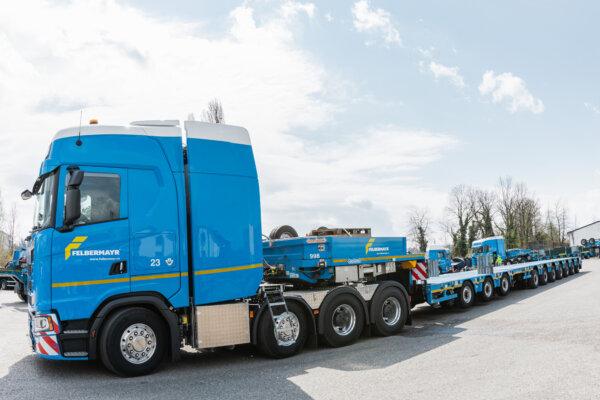 King of the Road – weltweit erste Schwerlast mit 770 PS von Scania