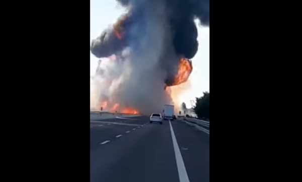 Zderzenie z cysterną na A1. Żaden z kierowców ciężarówek nie przeżył