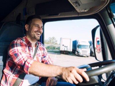 Где работают самые счастливые водители грузовиков? Эти регионы разгромили соперников