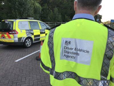 DVSA warn road users to watch out for impersonators carrying out roadside checks