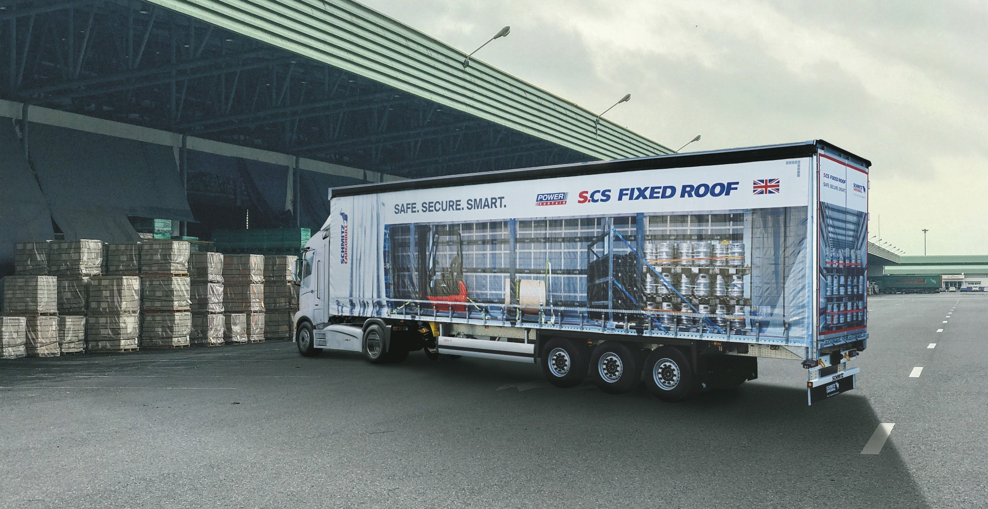 Schmitz Cargobull to soon start production in the UK at new Manchester factory
