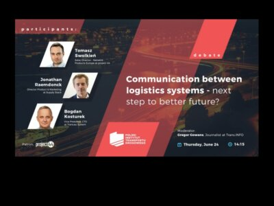Communication between logistics systems – the next step to better future?