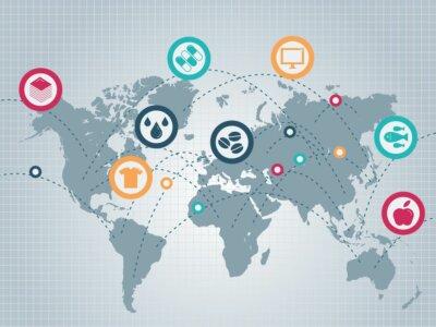 Blockchain pagerins logistikos ir tarptautinės prekybos statistiką