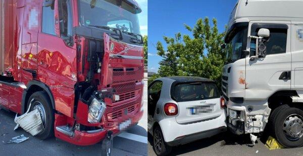 Akcja ratunkowa jak z filmu. Bohaterski kierowca ciężarówki uchronił kolegę od kraksy