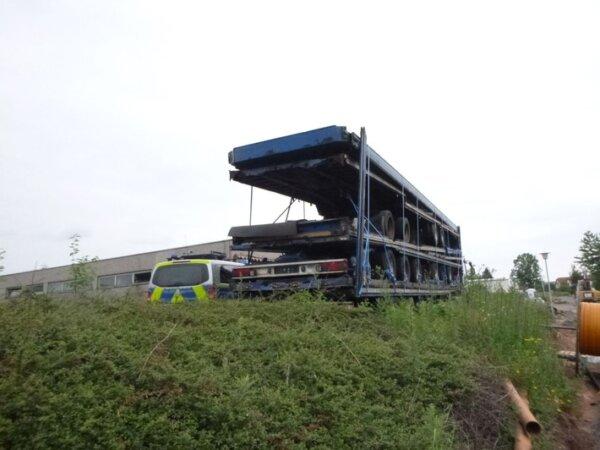 """Poliția germană a identificat un camion într-o stare """"catastrofală""""; cu toate acestea, nicio sancțiu"""
