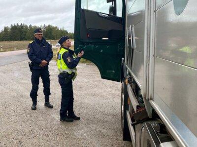 Шведы планируют ужесточить наказания за нелегальный каботаж. Это будут самые крупные штрафы в ЕС