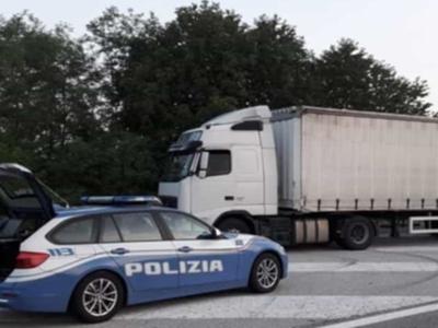 В Италии умер водитель грузовика из Украины