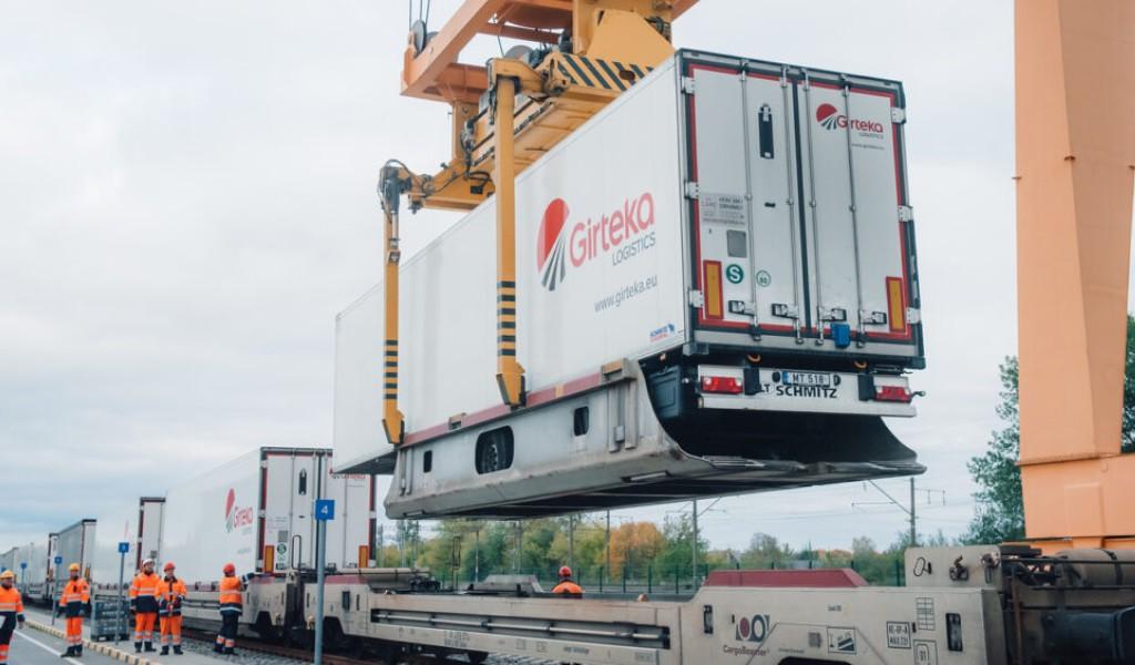 Girteka Logistics tests new intermodal terminal linking Netherlands and Lithuania