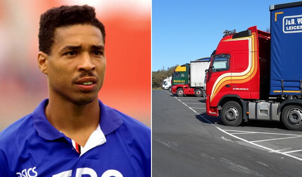 """Former England International shows his respect for """"massive skill"""" of lorry drivers"""