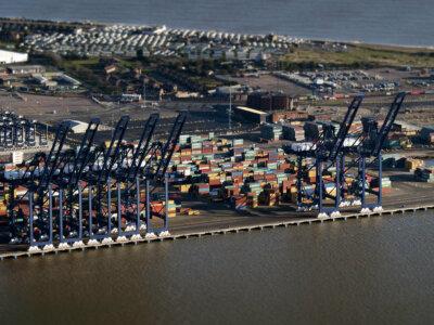 Der britische Handel hat einen starken Rückgang erlitten. Deutschland ist nicht mehr der wichtigste Importpartner Großbritanniens