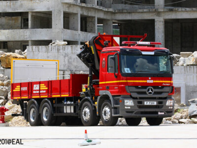 Minimum weight limit for special use lorries lifted in Denmark