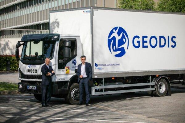 Geodis hat 200 Fahrzeuge mit Biogas-Verbrennungsmotoren gekauft