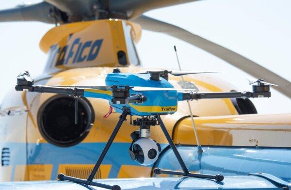 Водители, за вами следят сверху! Испанцы инвестировали в несколько десятков дронов для контроля доро