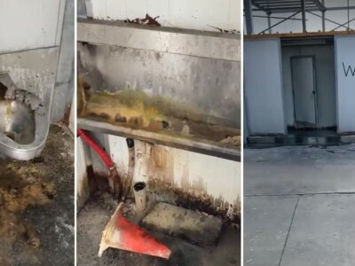 Haulier slams disgusting truck stop toilets amid Europe's growing driver shortage