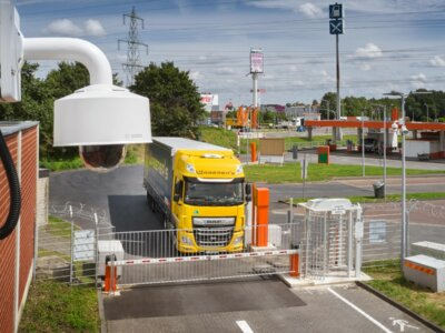 AI-operated secure lorry park opens near Cologne