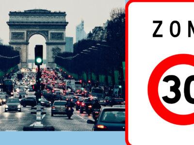 Paryż rozszerzy strefy z limitem prędkości