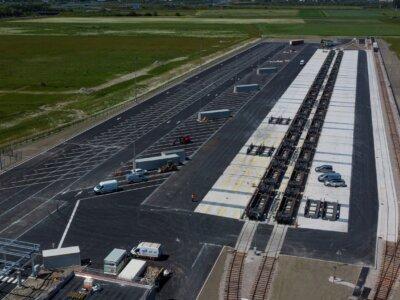 CargoBeamer opens new intermodal terminal in Calais
