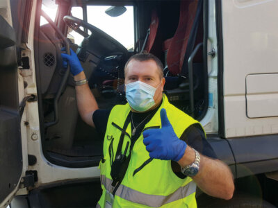 New Covid restrictions for truckers entering 4 European countries
