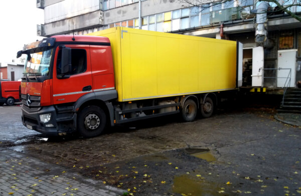 Dutch haulier punished for fatal unloading accident