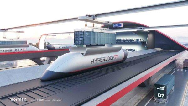 Tehnologia Hyperloop va sta la baza unei soluții inovatoare în transportul de containere și deconges