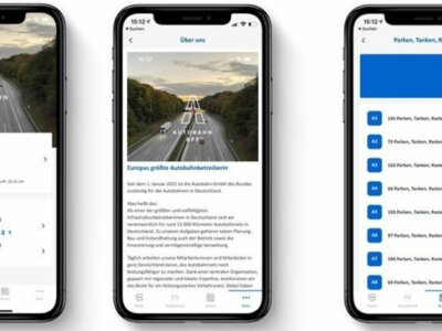 New Autobahn app provides info on traffic, roadworks and parking areas