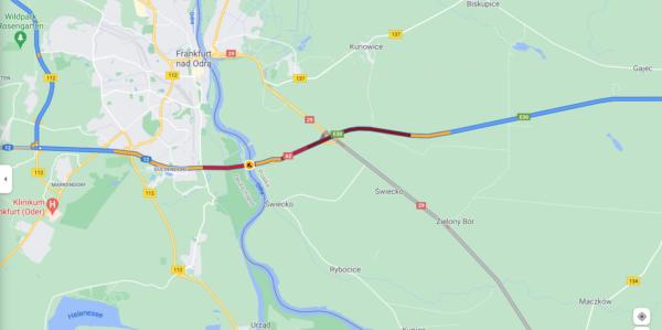 Wielkie korki na autostradzie w Niemczech przy polskiej granicy. Sprawdź, którędy je ominąć [AKTUALI