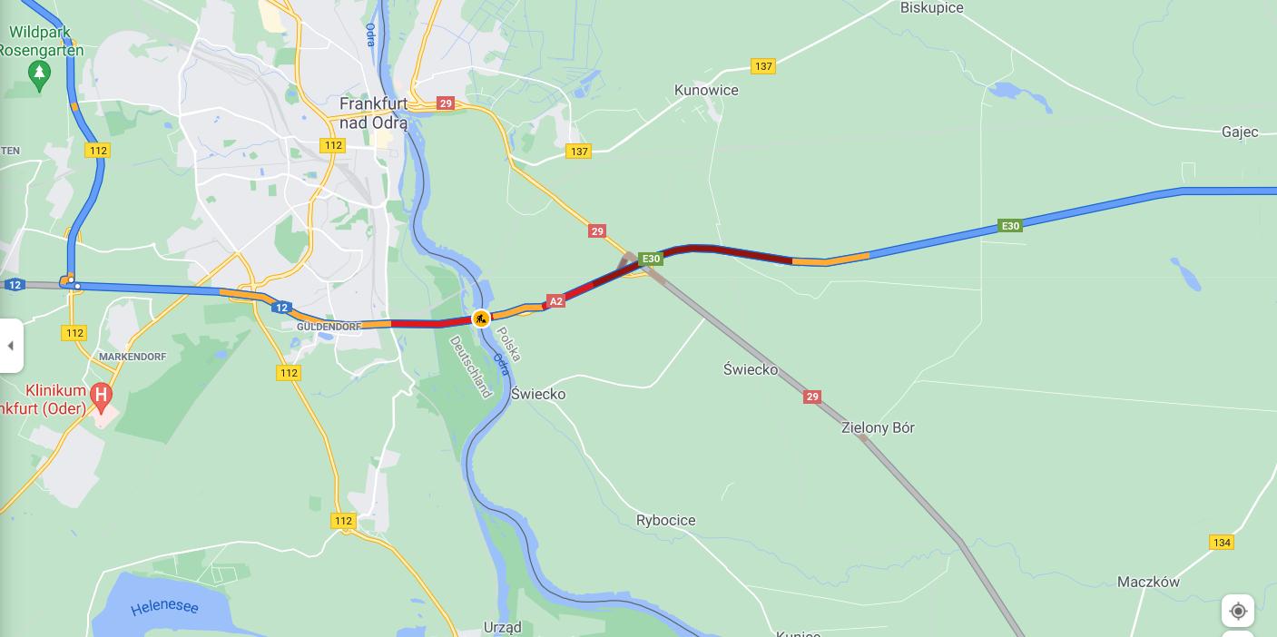 Wielkie korki na autostradzie w Niemczech przy polskiej granicy. Sprawdź, którędy je ominąć [AKTUALIZACJA]