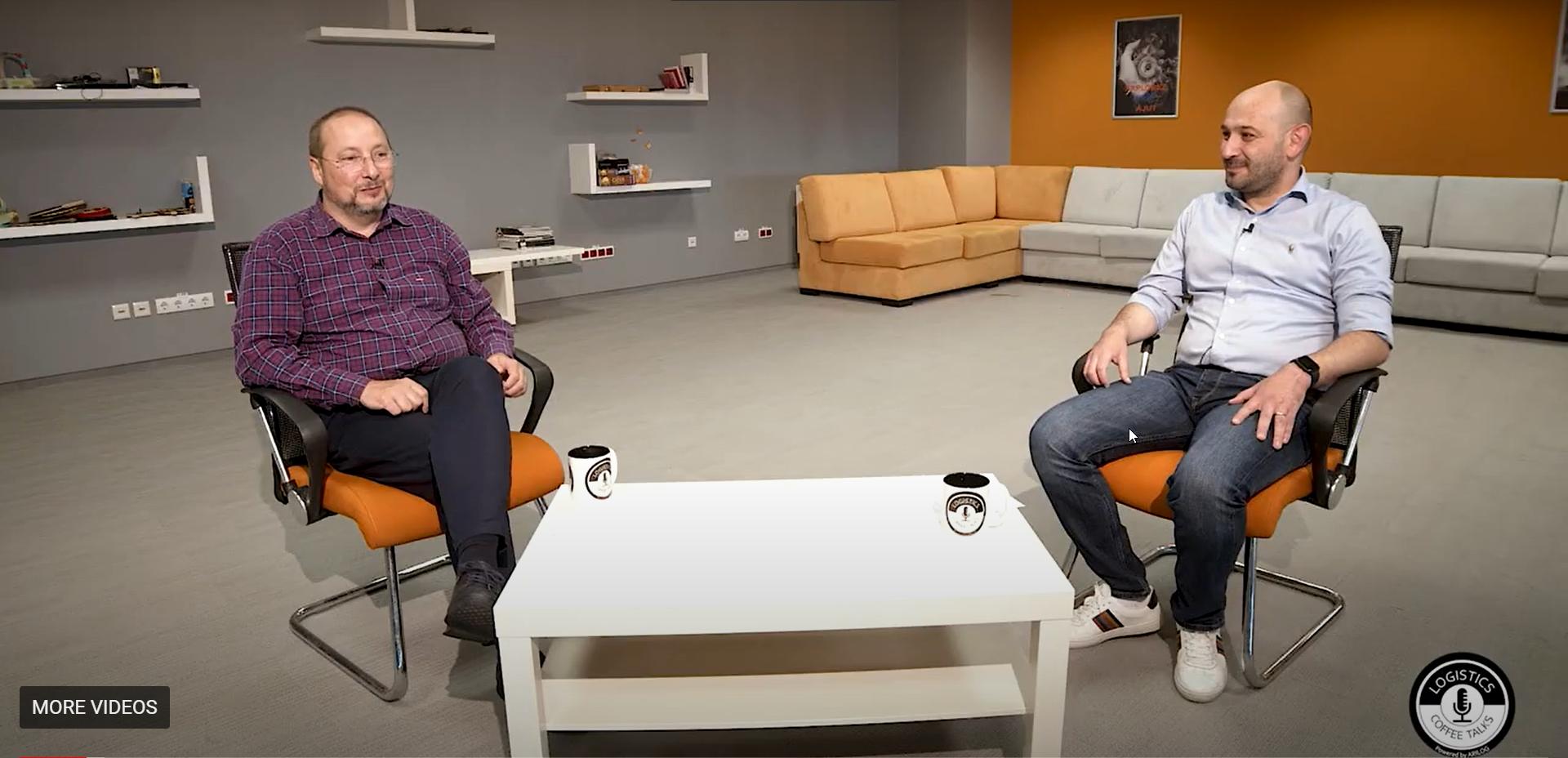 Logistics Coffee Talks   Podcast #3, invitat Romeo Dumitru, Logistics Manager, EUROCCOPER