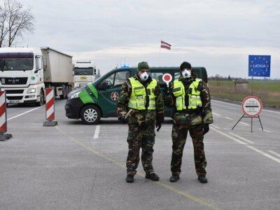 Nowe, zaostrzone warunki przekraczania granicy na Litwie i Łotwie. Zobacz, co się zmieniło dla kierowców ciężarówek