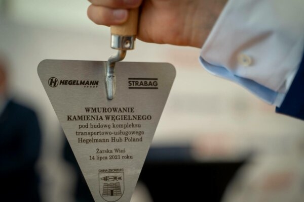 Hotel for lorry drivers with 750 beds; Hegelmann's new centre at Polish-German border