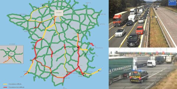 """Szykuje się """"czarna sobota"""" na francuskich drogach. A w Niemczech korki powoduje 820 remontów"""