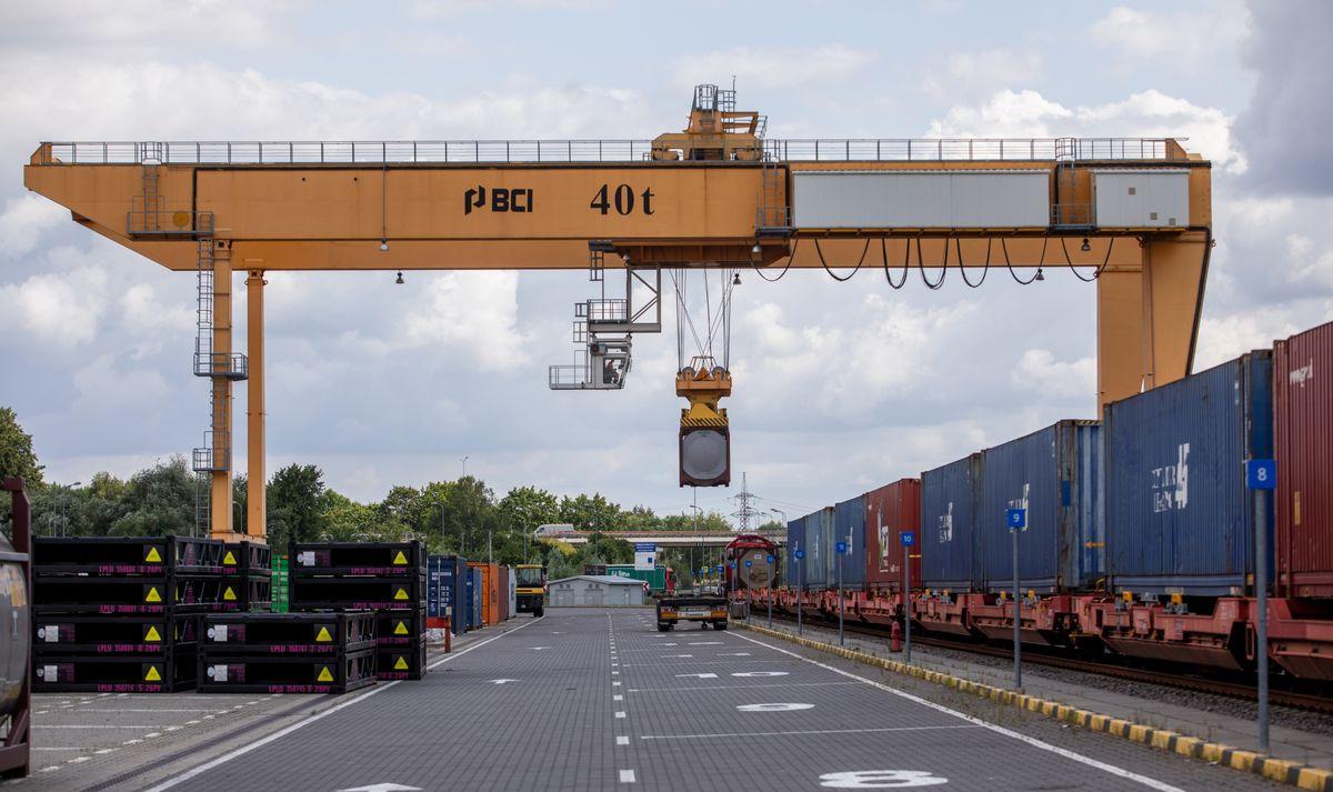 """Litwa stworzyła nowe połączenie intermodalne przez Kowno. """"To nowa brama do Europy"""""""