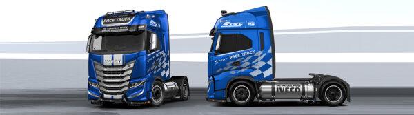 Grüneres Truck Racing? Gasbetriebene Lkw als Lösung