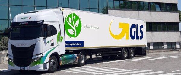 GLS stawia na ekologiczną flotę. Zamówiło 120 Iveco na LNG i bio-LNG