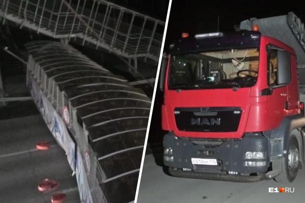 Źle obliczył wymiary ciężarówki i zniszczył wiadukt. Teraz musi zapłacić gigantyczną sumę za naprawę