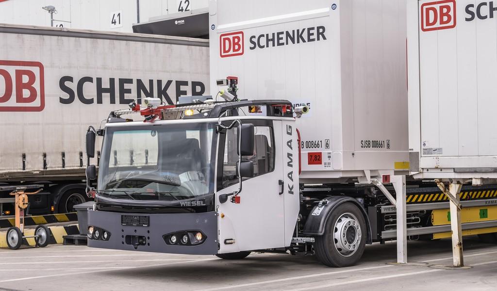 DB Schenker tests driverless yard logistics with Fernrides teleoperation platform
