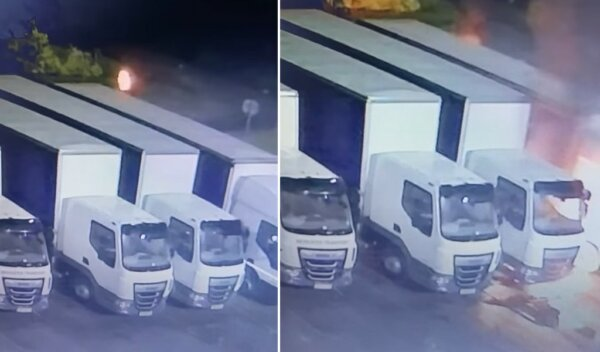 Lancashire Police appeal for witnesses after HGV is petrol bombed in Skelmersdale