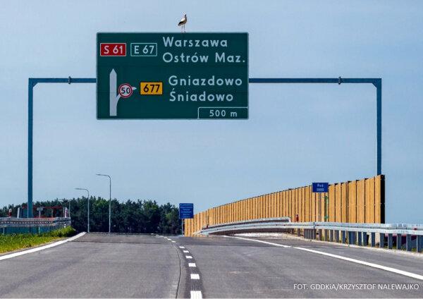Via Baltica dłuższa o nowy odcinek ekspresówki. W lipcu kierowcy zyskają kolejne kilometry