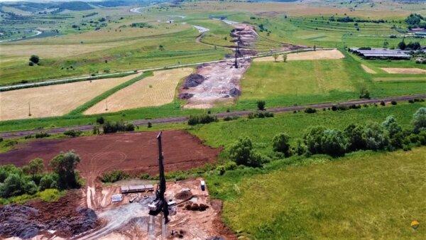Infrastructură I Lucrări spectaculoase pe Autostrada Transilvania