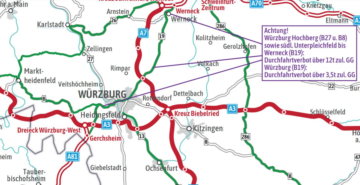 Germania | Restricții de trafic pentru camioane pe perioada de vară. În premieră este disponibilă o hartă digitală a rutelor alternative