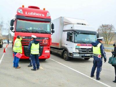 Очередные массовые проверки грузовиков в ЕС. Посмотрите, на что будут обращать внимание полицейские