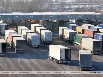 """Поток грузового транспорта на белорусско-польской границе вырос на 20 проц. """"Это подтверждает популярность транзитных коридоров"""""""