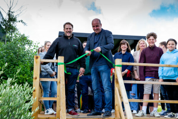 Haulage firm opens its own bar for lorry drivers and other staff